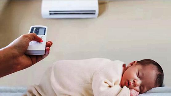 Chuyên gia y tế khuyên nên duy trì nhiệt độ từ 28-29 độ C đối với trẻ sơ sinh