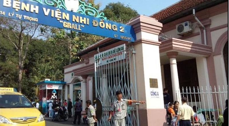 Bệnh viện Nhi Đồng 2 (TP.HCM) nơi xảy ra vụ việc