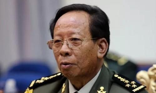 Bộ trưởng Quốc phòng Campuchia Tea Banh.