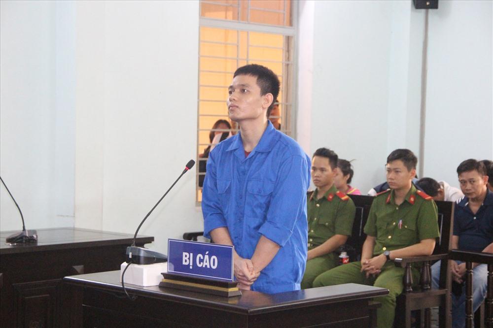 Hải tại phiên tòa thừa nhận hành vi của mình.