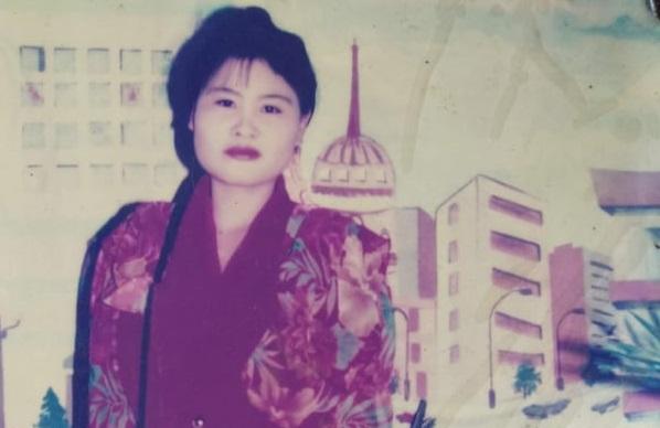Hình ảnh chị Lan từ khi còn trẻ.