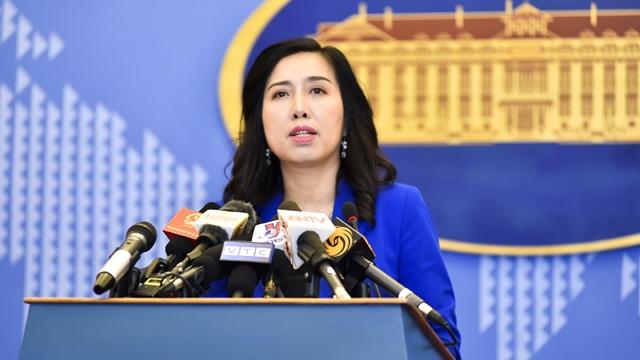 Người phát ngôn viên của Bộ Ngoại giao Việt Nam, bà Lê Thị Thu Hằng. (Ảnh qua aseantop)