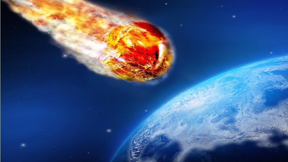 Tiểu hành tinh FT3 sẽ bay ngang hành tinh chúng ta vào ngày 3/10/2019. (Ảnh qua Evening Standard)