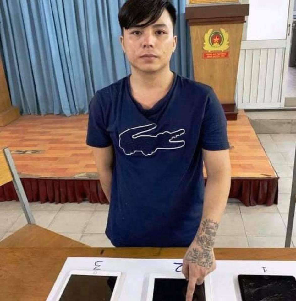 Đối tượng Huỳnh Thanh Phương, kẻ cướp chiếc iPad rồi quay lại nhà nạn nhân đe dọa để lấy mật khẩu.