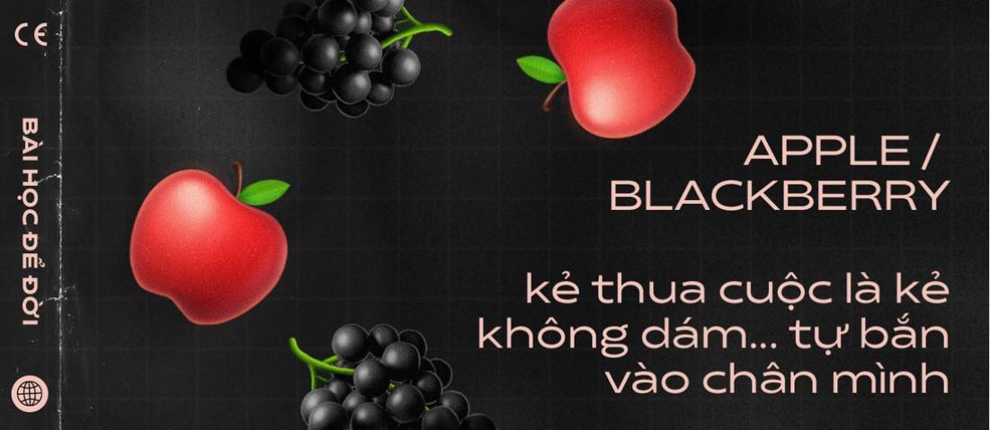 Apple và BlackBerry: Kẻ thua cuộc là kẻ không dám... tự bắn vào chân mình - ảnh 1