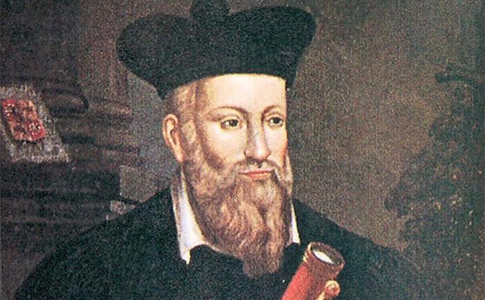 Nostradamus, nhà tiên tri nổi tiếng nước Pháp với nhiều dự ngôn chuẩn xác phi thường.