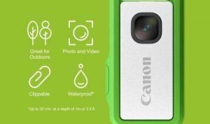 Canon gây quỹ cho máy ảnh có kích thước như USB, cảm biến 13MP