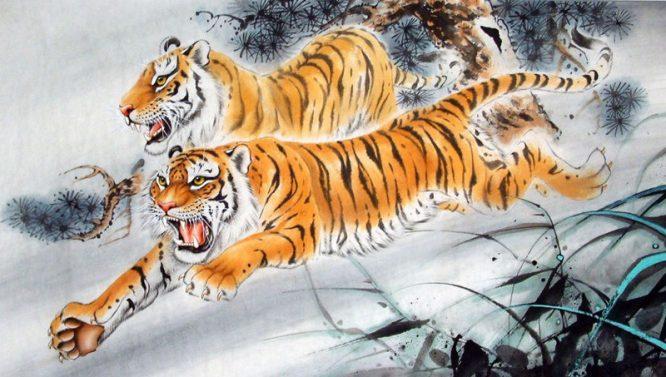Hổ là loài vừa có linh tính, lại có thể phân biệt người tốt xấu.