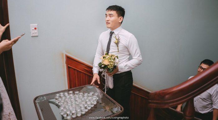 Lạng Sơn: Chú rể phải uống 49 ly rượu mới được gặp mặt cô dâu.1