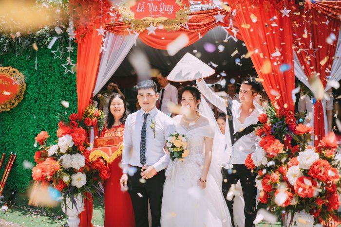 Đám cưới của cả 2 vẫn diễn ra suông sẻ và hạnh phúc.