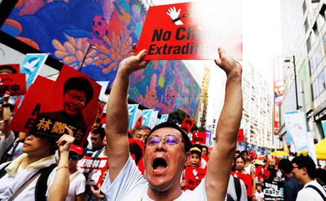 Tài liệu rò rỉ: Biểu tình ở Hồng Kông khiến Bắc Kinh thấp thỏm không yên.1