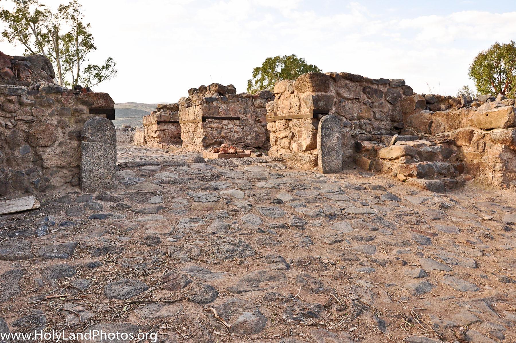 Cổng thành Bethsaida. Thành Bethsaida là nơi được đề cập đến trong Kinh Thánh. (Ảnh qua Holy Land Photos' Blog)