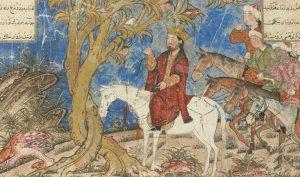 Alexander Đại đế tiến vào một khu rừng sâu trong truyền thuyết. Tại đây, ông đã được cây thần tiên tri về cái chết của mình.