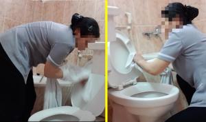 Vào khách sạn, đừng bao giờ dùng khăn tắm để lau mặt vì nó rất bẩn!