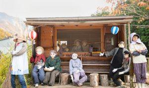 Ghé thăm ngôi làng bù nhìn siêu kỳ lạ ở Nhật Bản