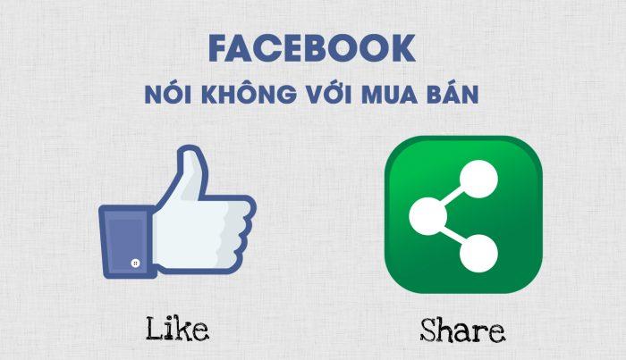 Facebook sẽ 'xử' dịch vụ mua bán like và share tại Việt Nam