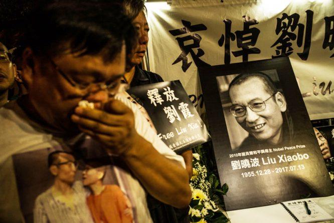 Lưu Hiểu Ba - người đã giành được giải Nobel hòa bình, bị chính quyền ĐCSTQ bức hại đến chết.