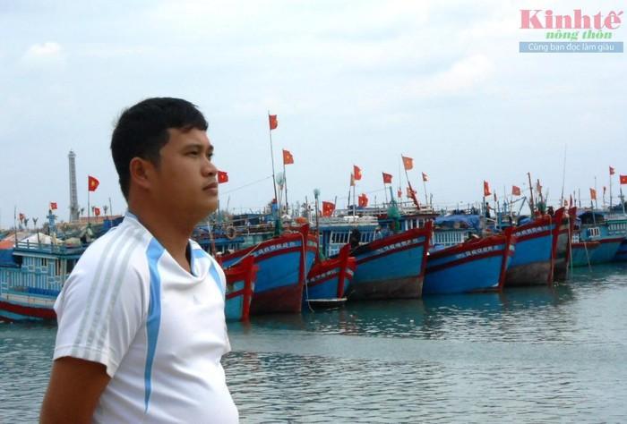 Ngư dân Bùi Văn Phải (xã An Hải, huyện Lý Sơn, Quảng Ngãi) - thuyền trưởng tàu cá QNg 96169