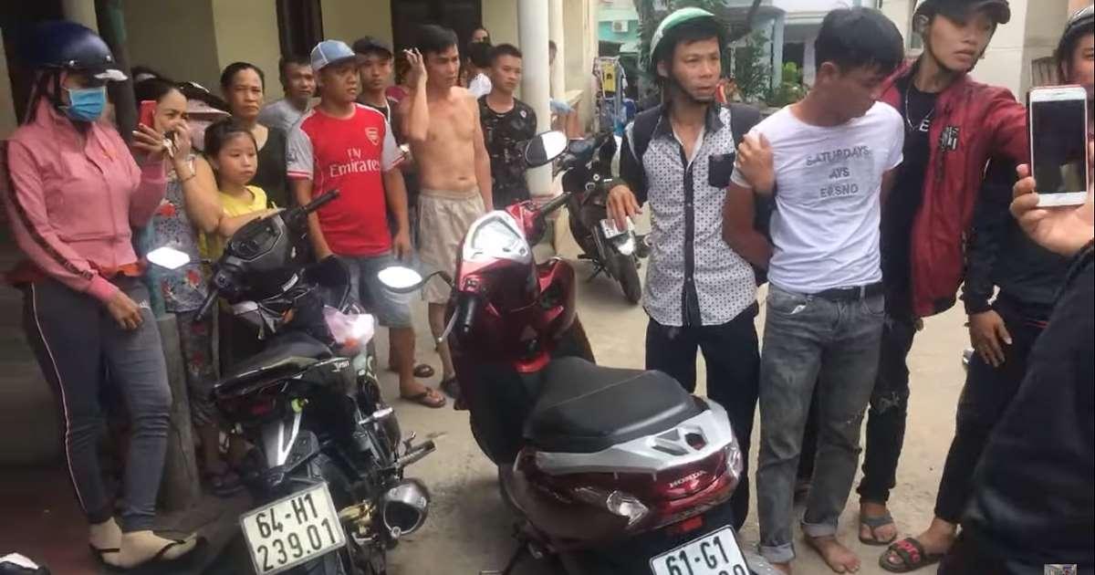 Thủ phạm đã bị nhóm hiệp sĩ bắt được.