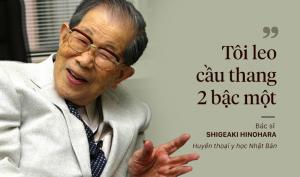 Tiến sĩ quá cố Shigeaki Hinohara là một trong những bác sĩ hành nghề lâu năm nhất thế giới và được tôn vinh là huyền thoại y học của nước Nhật.