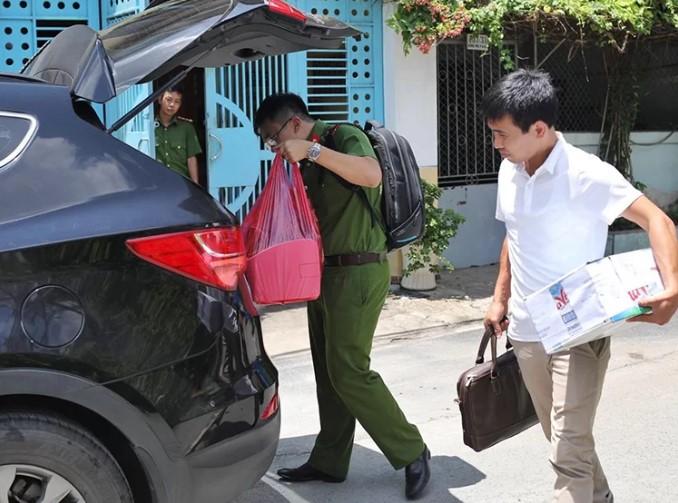 Cựu Tổng giám đốc Sagri Lê Tấn Hùng bị bắt.3
