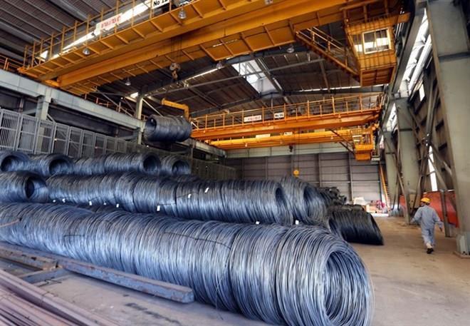 Các sản phẩm thép từ Việt Nam có nguồn gốc Hàn Quốc và Đài Loan sẽ chịu mức thuế rất nặng tại Mỹ.