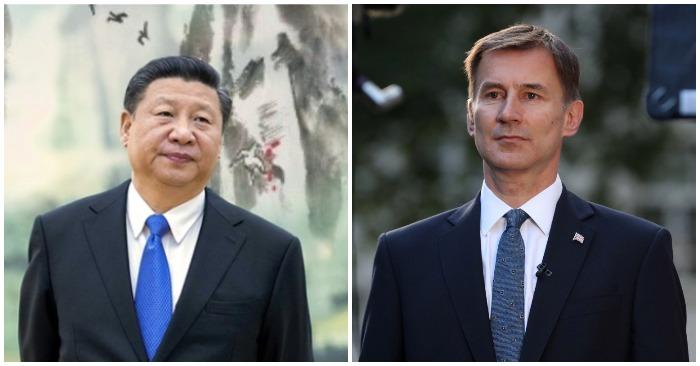 Ngoại trưởng Anh kêu gọi Chủ tịch Trung Quốc để Hồng Kông được tự do