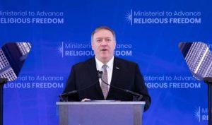 Mỹ tuyên bố thành lập Liên minh Quốc tế Bảo vệ Tự do Tín ngưỡng