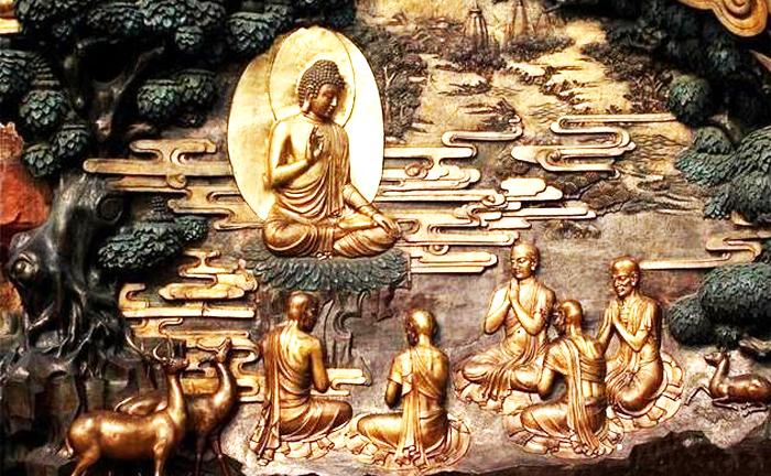 Phật không nơi nào không tồn tại, dù trong một tờ giấy hay bức họa đều có thể xuất lai.