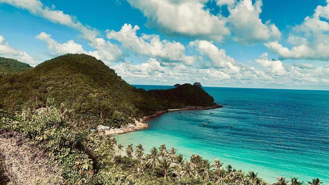 Đảo Nam Du, vẻ đẹp hoang sơ, thơ mộng đối diện nguy cơ ô nhiễm môi trường khi rác thải bị ứ đọng.