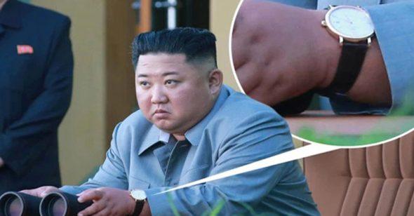 Dân ăn cơm trắng với kim chi mỗi ngày, Kim Jong Un vẫn thản nhiên đeo đồng hồ 300 triệu đi thị sát