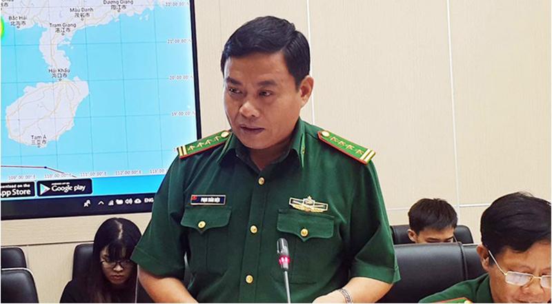 Đại tá Phạm Xuân Diệu - Phó tham mưu trưởng Bộ Tư lệnh Bộ đội Biên phòng.