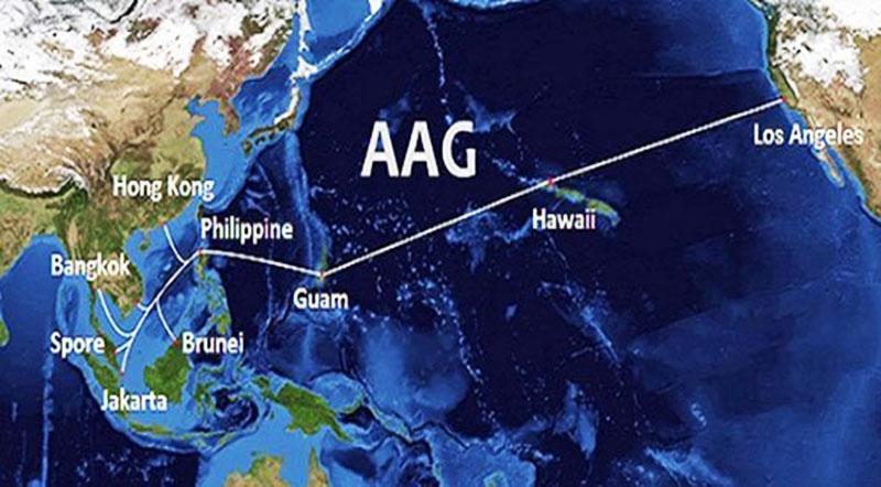 Cáp quang biển AAG gặp sự cố, kết nối Internet Việt Nam đi quốc tế tiếp tục bị ảnh hưởng. (Ảnh qua vietnamnet)