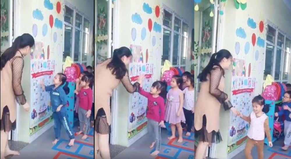 Cô giáo Đinh Thị Phương Trang (SN 1991) cũng đã có màn chào hỏi thú vị như vậy.