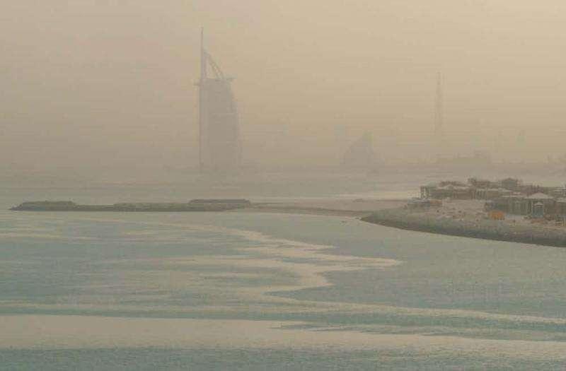 Không khí bị ô nhiễm nghiêm trọng