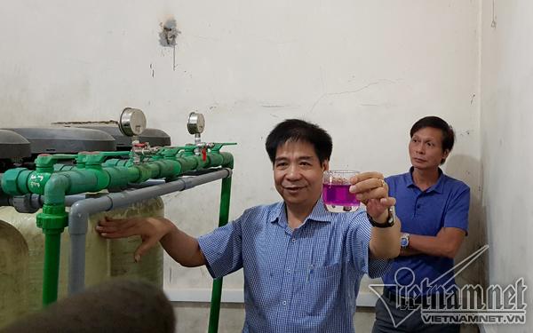 3 van nước K1, K2, K3 của hệ thống RO1 bị hỏng là nguyên nhân chính khiến nước lọc thận bị ô nhiễm.