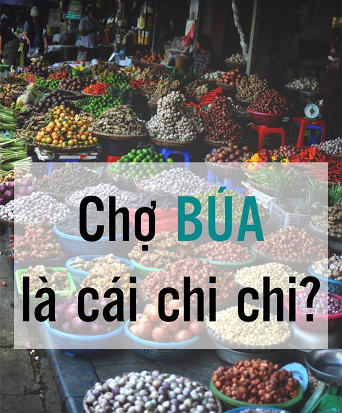 'Búa' là âm xưa của chữ [铺], âm Hán Việt hiện đại là của chữ này là 'phố', nghĩa là cửa hàng, là nơi buôn bán.