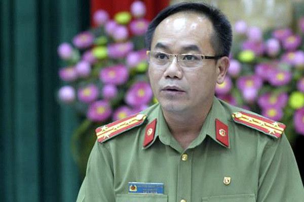 Đại tá Nguyễn Thanh Tùng, Phó giám đốc Công an Hà Nội. (Ảnh qua vietnamnet)