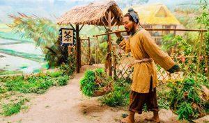 Ở nông thôn ngày trước, nông dân trong lúc lao động, cũng thích mang những kinh nghiệm và đạo đối nhân xử thế trong cuộc sống