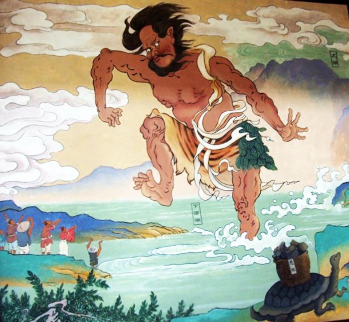 Những ghi chép về người khổng lồ đều xuất hiện trong chính sử và dã sử.