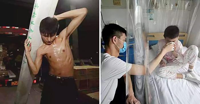 Xót xa cậu bé 16 tuổi làm khuân vác suốt cả đêm để kiếm tiền chữa chạy cho em gái bệnh nặng.