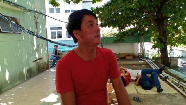 Ông Trần Văn Thêm đã có đơn cầu cứu gửi Giám đốc Công an TP. Đà Nẵng yêu cầu làm rõ việc con trai ông phải nhập viện trong tình trạng nguy kịch. (Ảnh qua baogiothong)