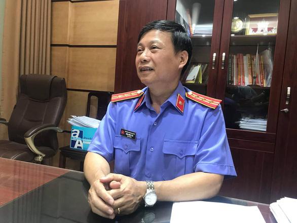 Ông Đinh Minh Tảo - viện trưởng Viện KSND quận Cầu Giấy. (Ảnh qua tuoitre)