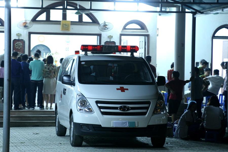 Xe chở L. về quê hương Thanh Hóa.