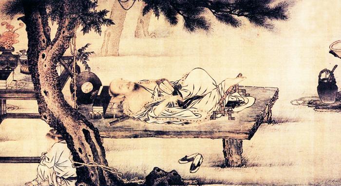 Đối với người xưa, giấc ngủ chính là hưởng thụ, cũng là một môn học vấn.