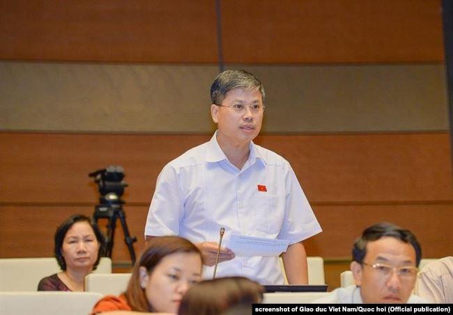 ĐBQH Nguyễn Sỹ Cương - Phó Chủ nhiệm Ủy ban An ninh đối ngoại của Quốc hội