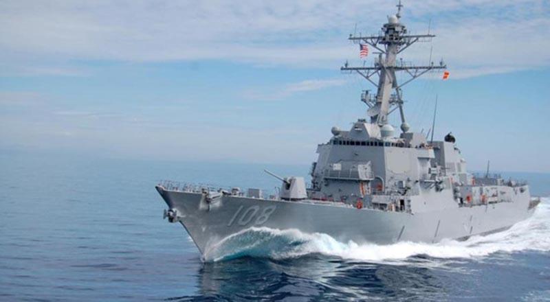 Tàu khu trục USS Wayne E. Meyer của Hải quân Mỹ