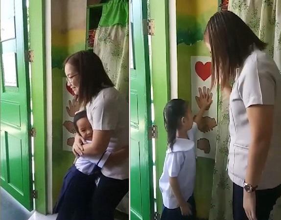 Tại Philippines một trường tiểu học là Malabon đã áp dụng hình thức tương tự như vậy một cách rất đáng yêu