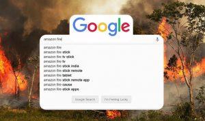Cháy rừng Amazon: người nổi tiếng 'share' nhầm ảnh; Tìm kiếm Google ra nhầm máy tính bảng