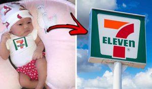 Em bé chào đời ngày 7/11 lúc 7h11 nhận được học bổng 7.111 USD từ tập đoàn 7-Eleven
